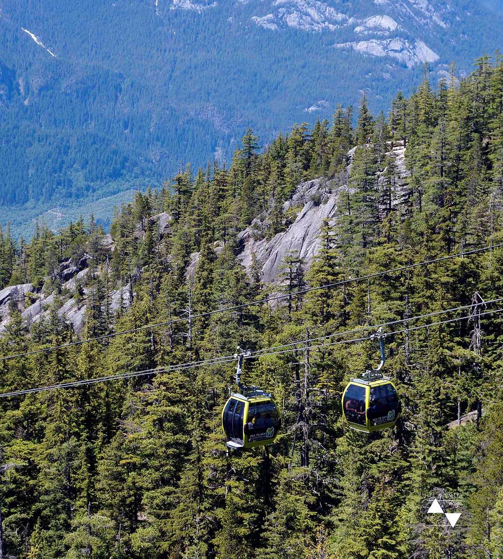Sea to Sky Gondolas at Squamish, BC