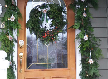 Adorned for Christmas - Porch | Entry Door