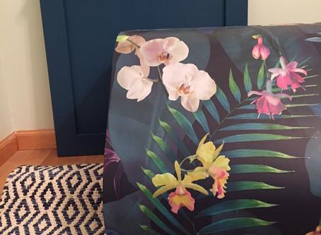 One Room Challenge - Week 3 - Painting  the Vanity