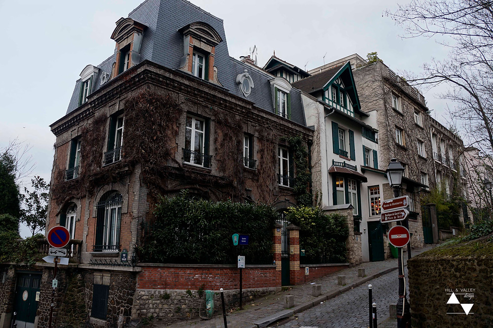 charming houses at Montmartre