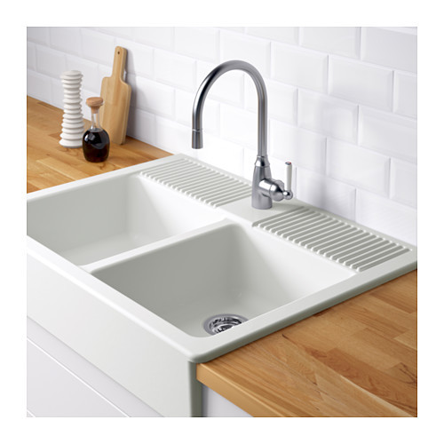 Ikea apron front sink for kitchen