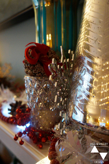 Adorning the Holiday Fireplace and Mantel