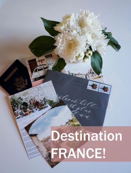 Destination France!