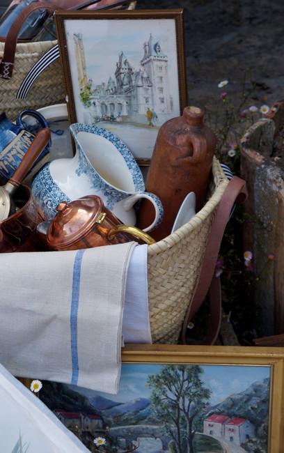 my bag of brocante treasures