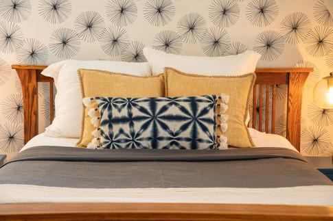 master suite - bedding