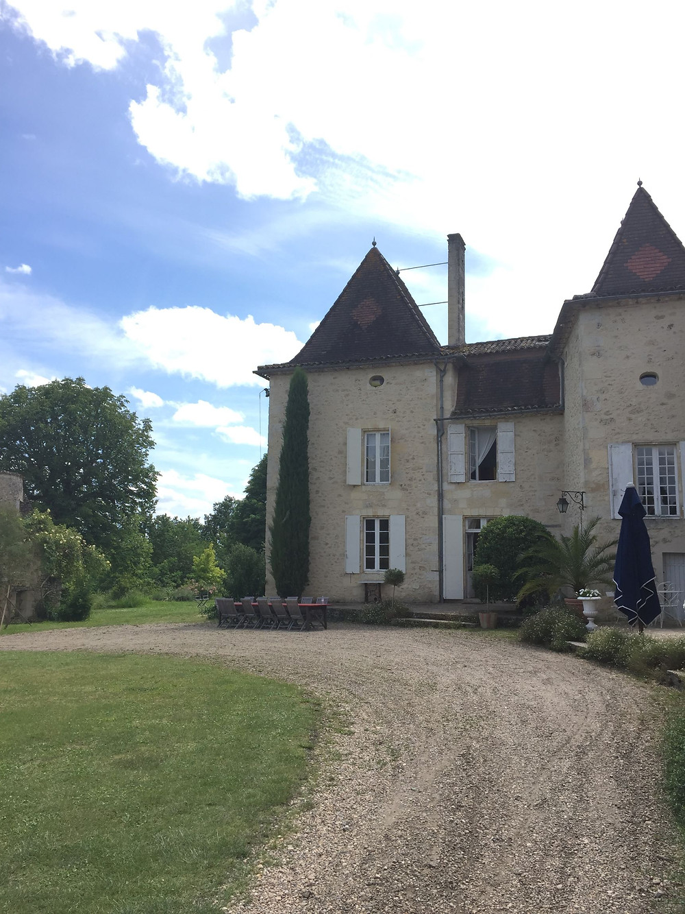 This 17th century chateau is currently used as a residence