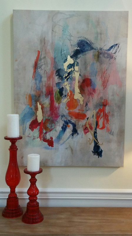 Accenting Art with Decor