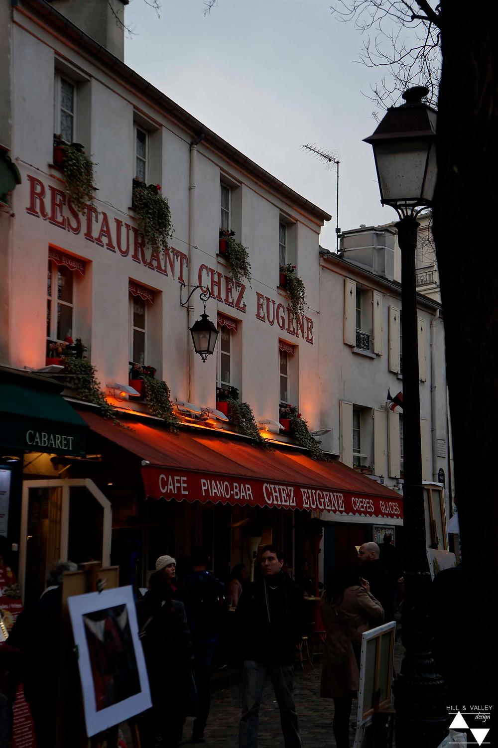 Chez Eugene at Place du Tertre - Montmartre