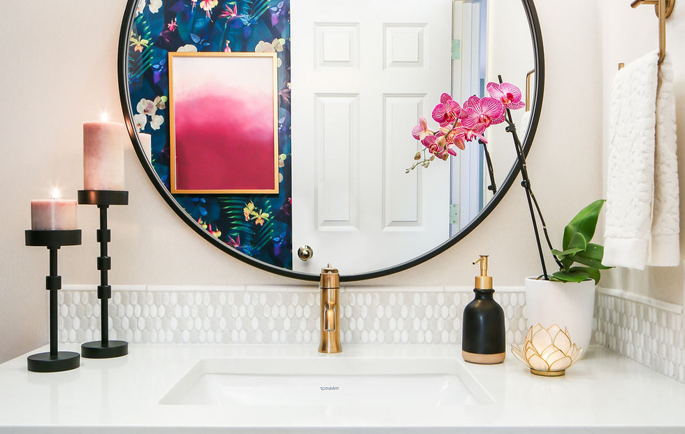 Hill and Valley Design - Powder Room