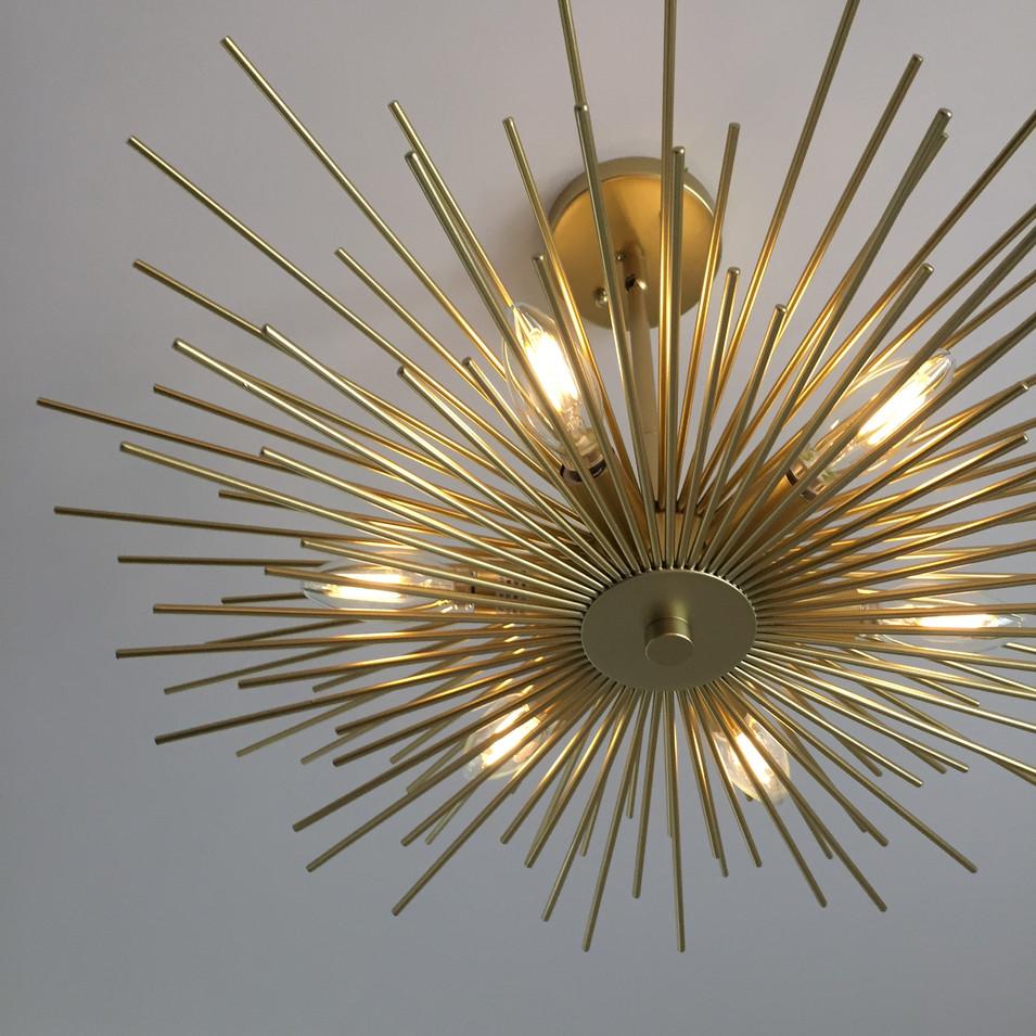 master suite - overhead lighting