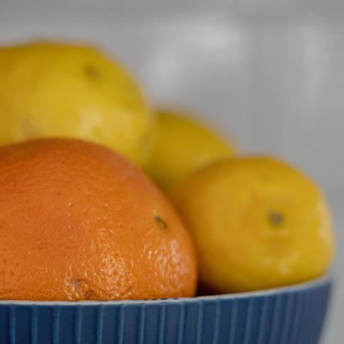 still life - oranges and lemons