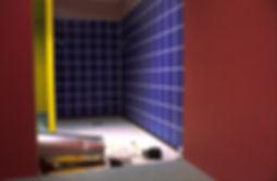 Bruce_Charlesworth-Projectile-detail-1982-installation-narrative_environment-video-Walker_Art_Center