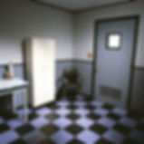 Bruce Charlesworth-Isolation Ward (triptich right)-1994-color photograph