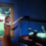 Bruce Charlesworth-Feeding-1997-from Death Ray series-color photograph