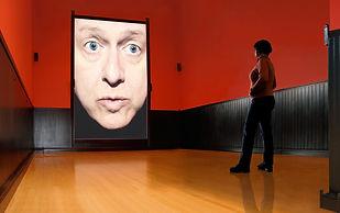 Bruce Charlesworth: detail of interactive installation Love Disorder 2008