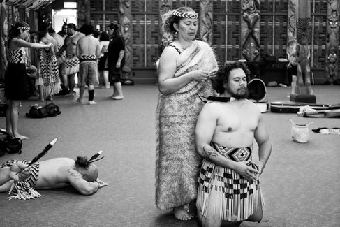 Bring in your mana, your awa, your whanau, your hapu, your iwi - Na Ngapo Wehi