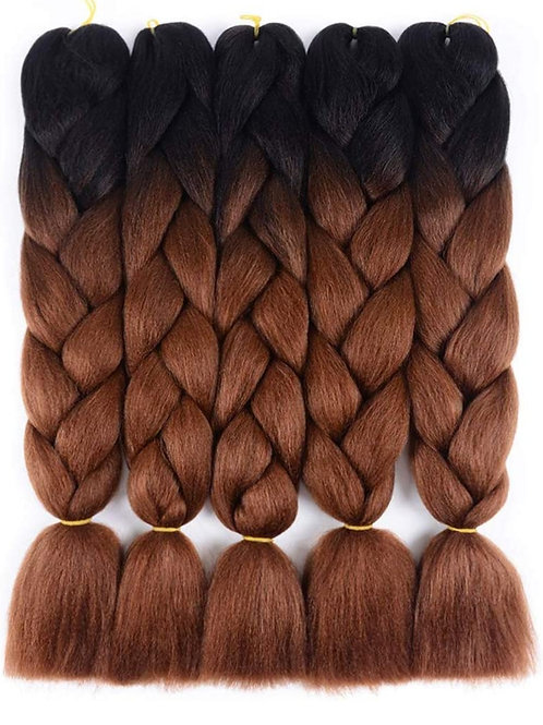 X-pression hair available  1bcolours 1 , 1b and pink gold , red