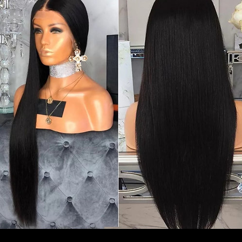straight peruvian hair with frontal