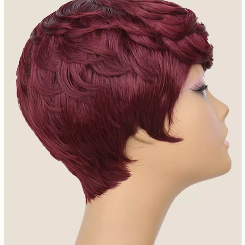 PWB Synthetic Hair  Wigs Short Bob hair cut pixie style