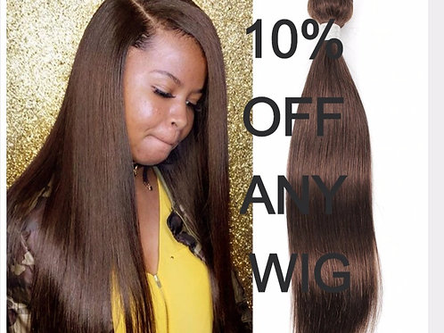 Peruvian Hair straight colour