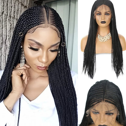 Alia 13*6 Braided Wig Middle Part