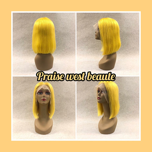 Precious - Silk Blunt Cut Bob With Closure