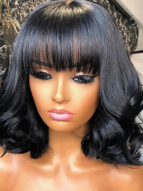 Full Head Fringe Wig