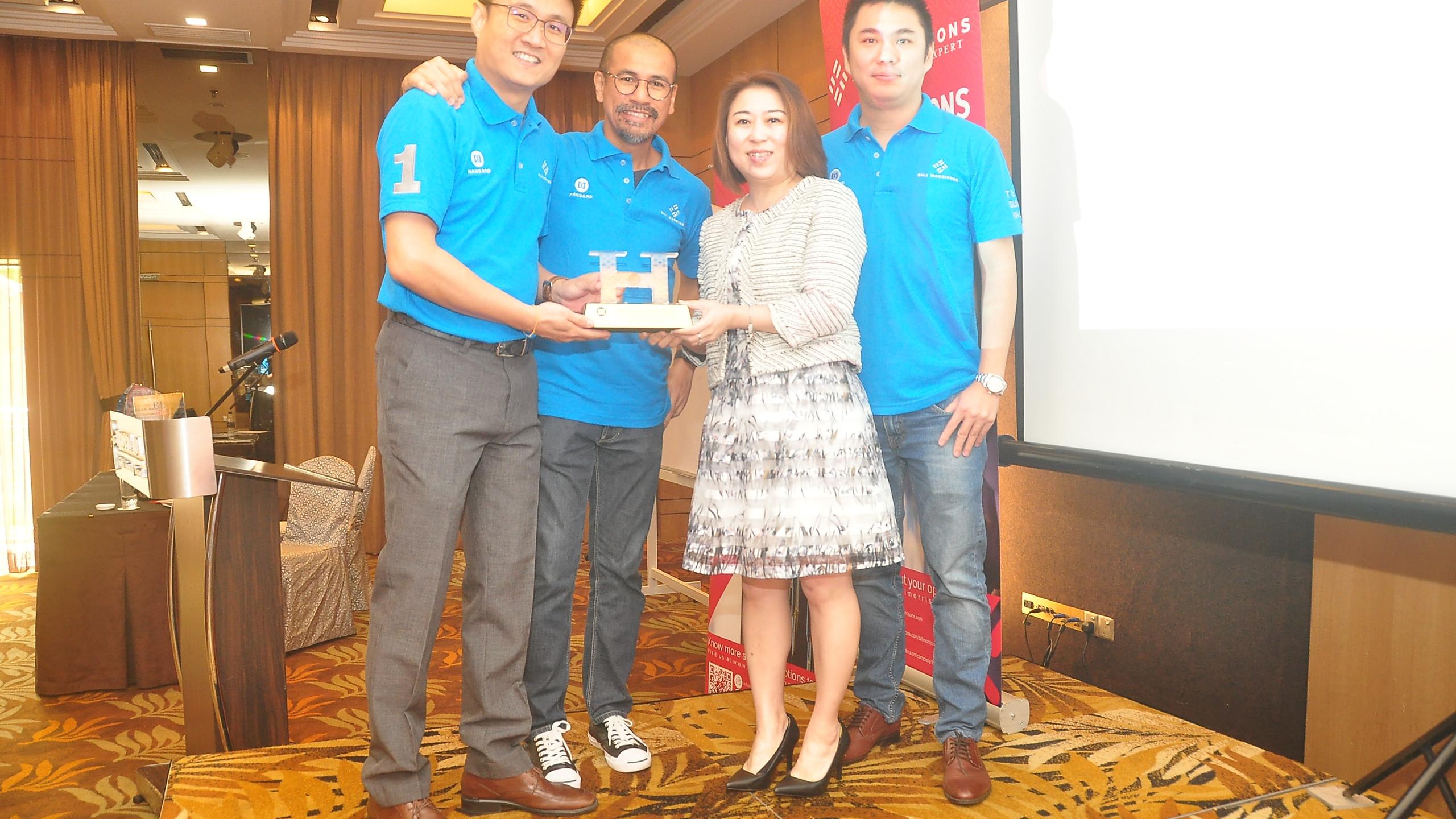 Award Presentation by HIL