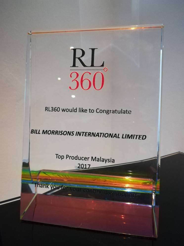 RL360 Top Producer Award 2017