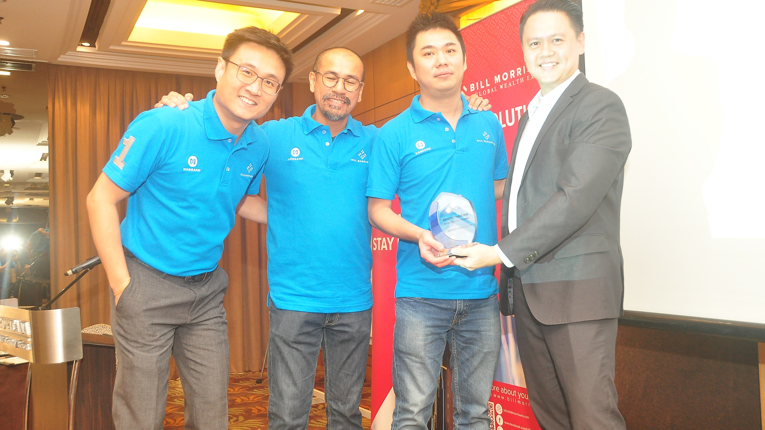 Award Presentation by ITA