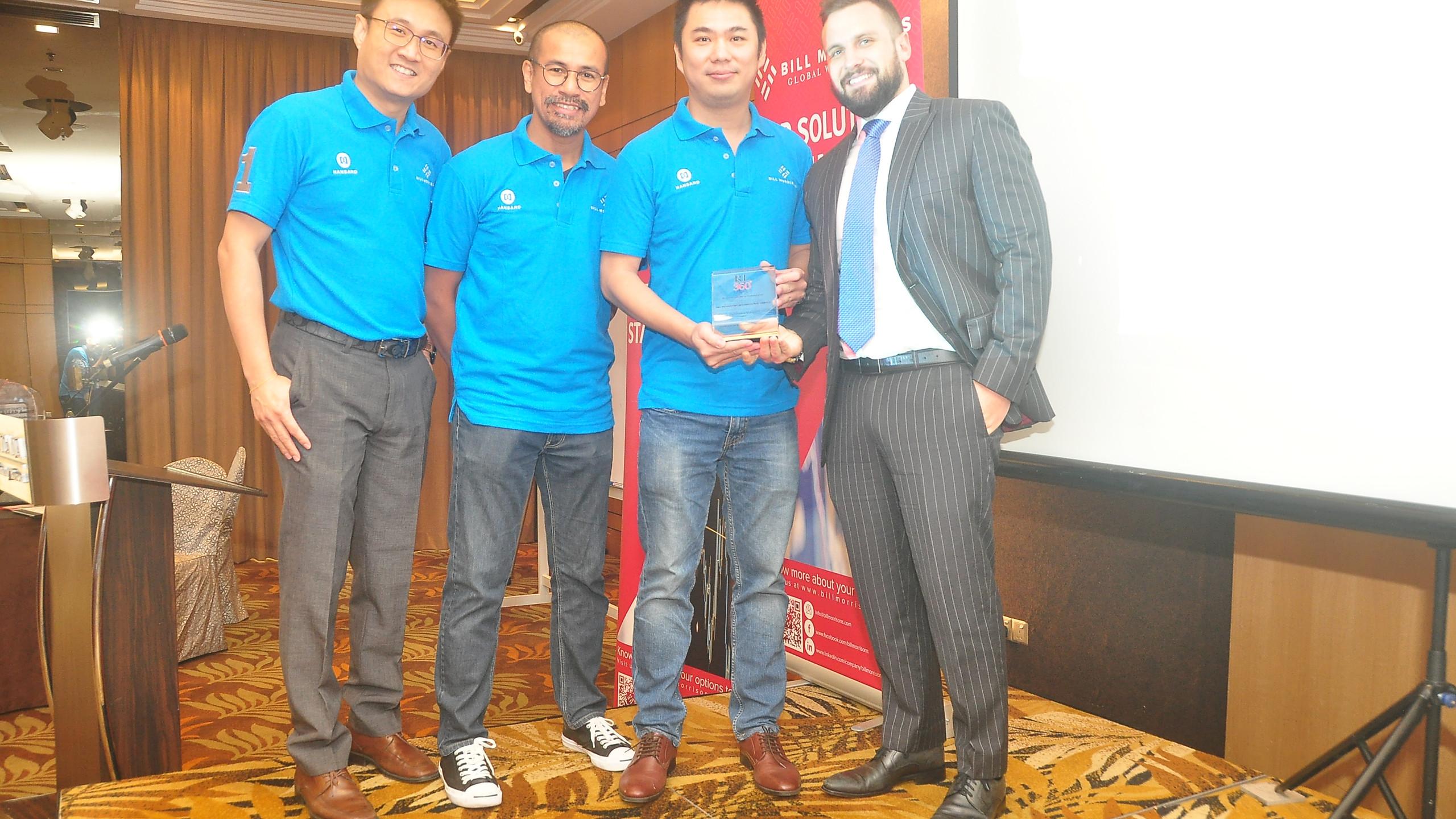 Award Presentation by RL360