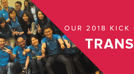 TRANSCEND - Beyond the Limits. Welcome to 2018!
