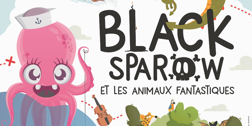 Black Sparow et les Animaux Fantastiques