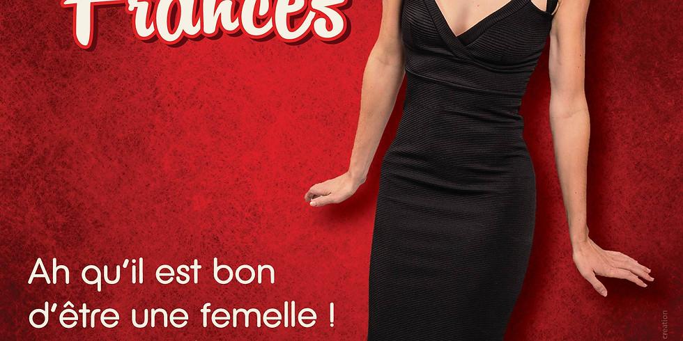 """La Drôle de Soirée """"Femelle"""" / Théâtre 100Noms  - NANTES /Céline Frances"""