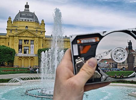 Fotografije Zagreba u hard disku