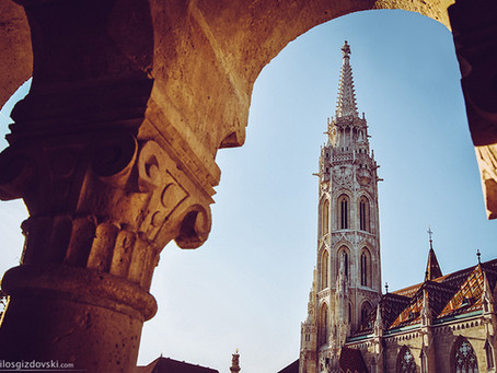 Slike Budimpešte u novembru