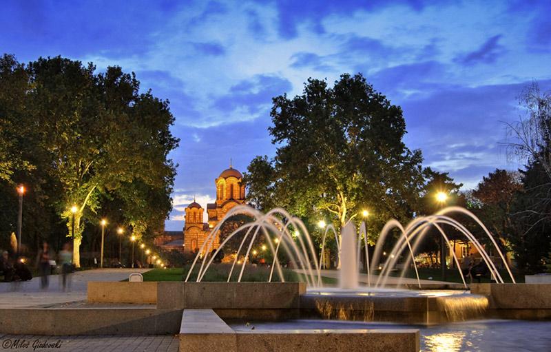 Blue-hour-photography-Beograd-Tasmajdan