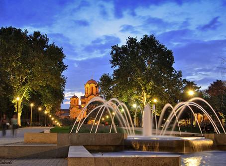 Beograd noću - fotografije Tašmajdana
