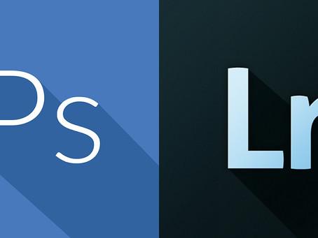 Kada Photoshop, a kada Lightroom?