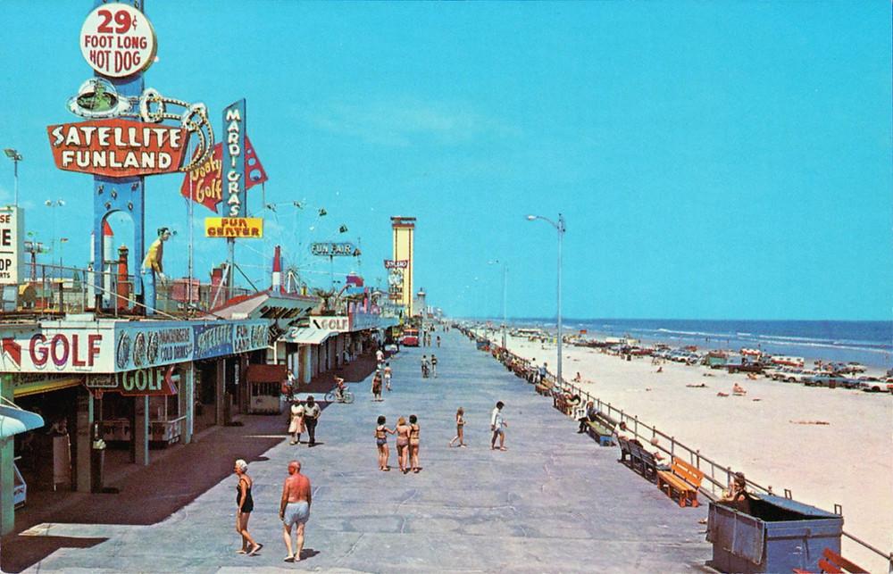 boardwalk-daytona-beach-florida 1960's