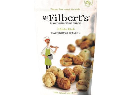 """Mr. Filberts peanuts og hasselnødder med italienske urter"""""""
