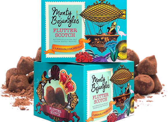 Chokoladetrøfler karamel og havsalt fra Bojangles