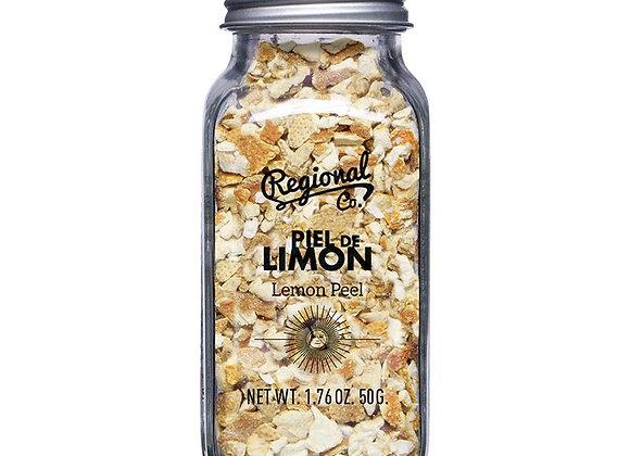Tørret citronskal fra Regional & Co. 50 g.