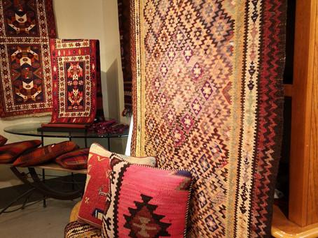 つくば市 ギャラリー彩花さんで絨毯・キリム展開催します