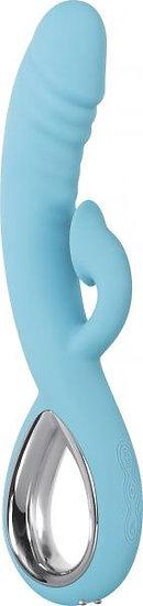 Triple Infinity Blue Rabbit Style Vibrator