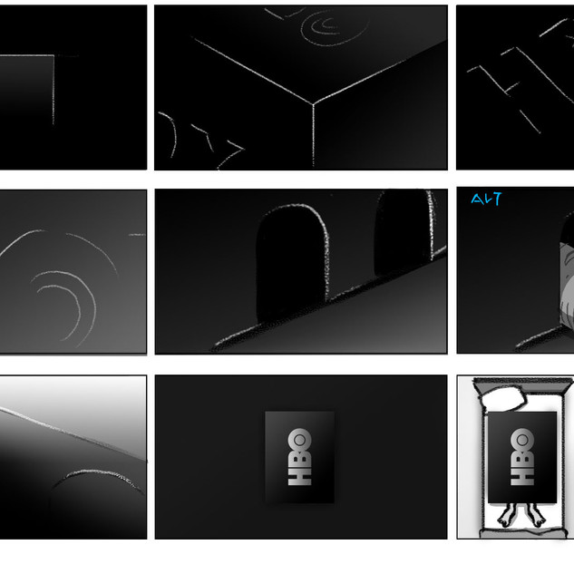 HBO Box Storyboards 1