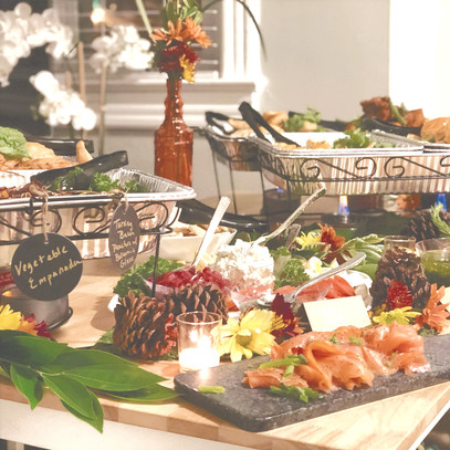 Fall Food Display
