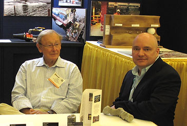 Fred Sherril and Jeff Stokke at Surecrete's Booth