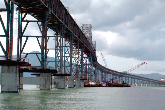 Richm San Rafael Bridge retrofit