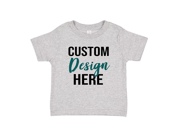 custom design kids tshirt